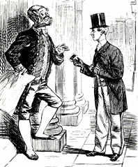 Punch cartoon of 1862