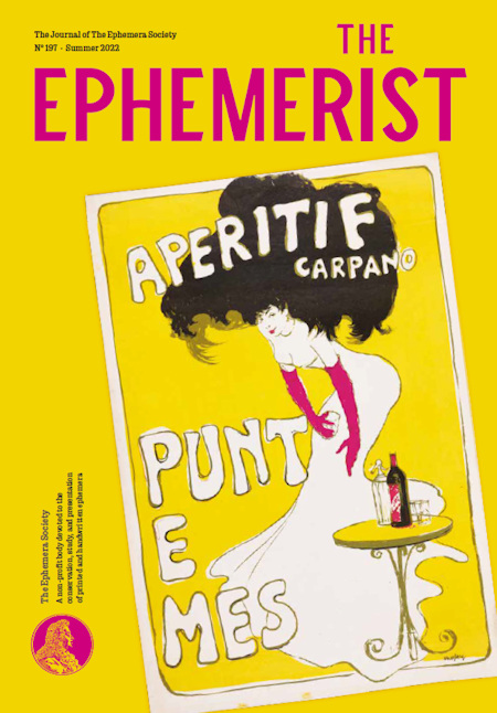 Front cover of The Ephemerist